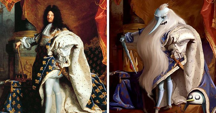 Classical Paintings Reimagined As Fandoms For Geeks