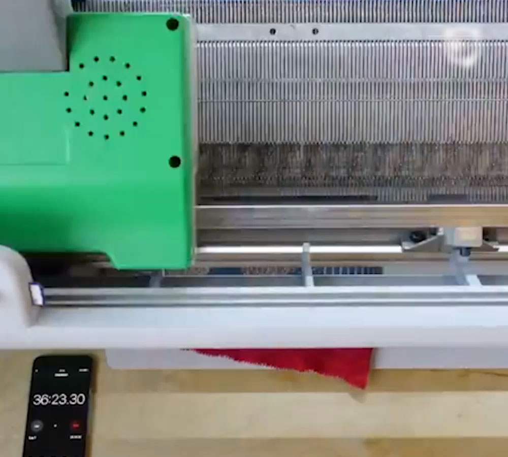 03a54915f50 Now You Can Print Your Own Clothes. Click to unmute. Spanish designer  Gerard Rubio merged knitting and digital technology ...