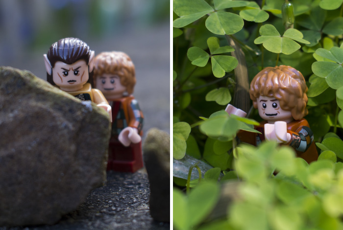 I Created A Little Lord Of The Rings Inspired Story With Lego Minifigures
