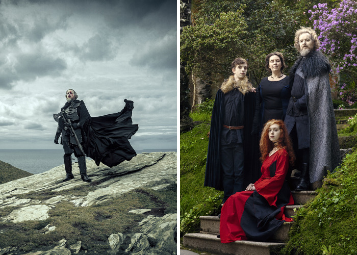 My Dad's Way Of Dealing With His Midlife Crisis: A Game Of Thrones Inspired Photoshoot