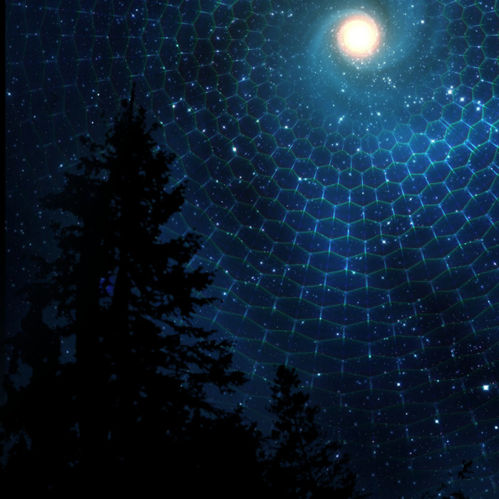 This Art Is A Recreation Of A Vision That I Had While Stargazing Out In The Rocky Mountains Of Colorado