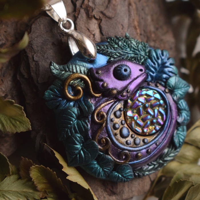 I Make Magical Polymer Clay Jewelry That Is Taken Out Of My Fantasy Worlds
