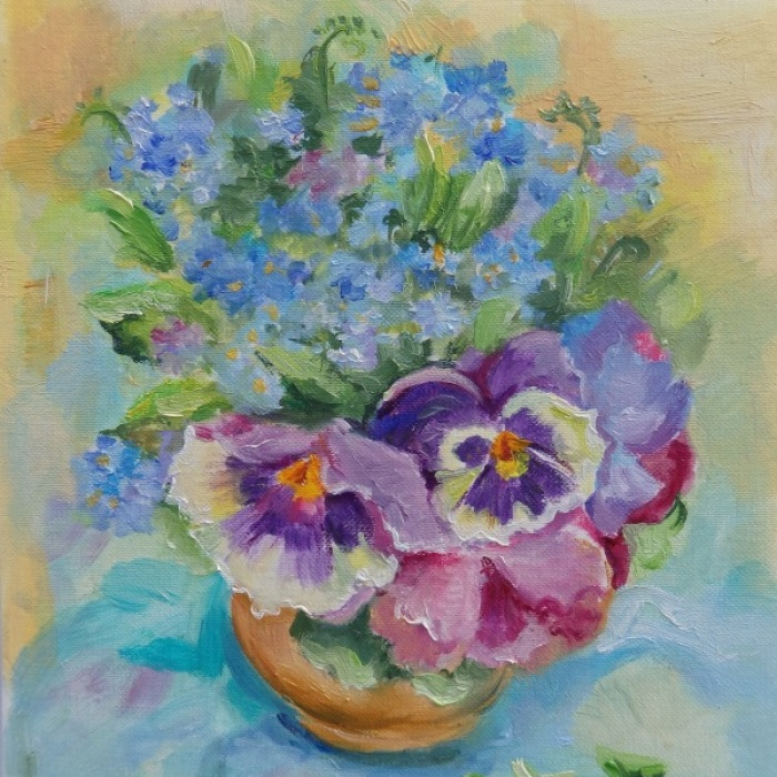 I Paint Flowers From Nature