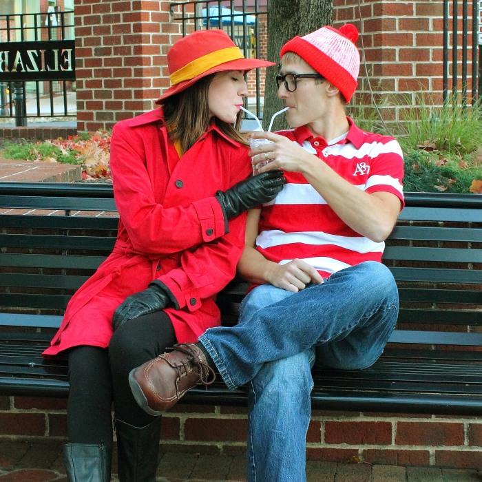 A Where's Waldo And Carmen Sandiego Couple's Photo Shoot To Bring On The Nostalgia