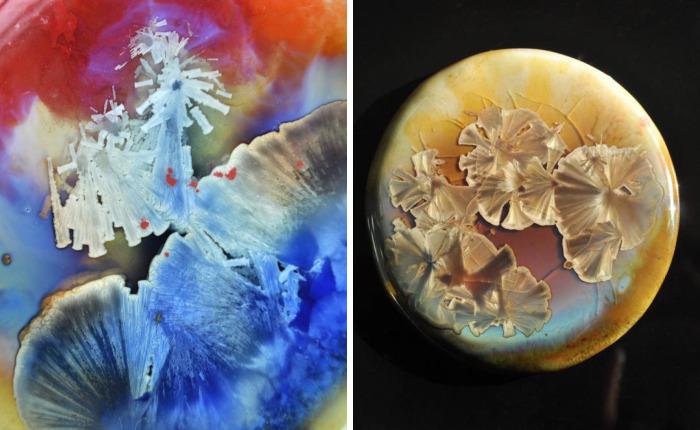 Alchemical Crystals: Ceramic Jewelry By Tatyana Kleshnina