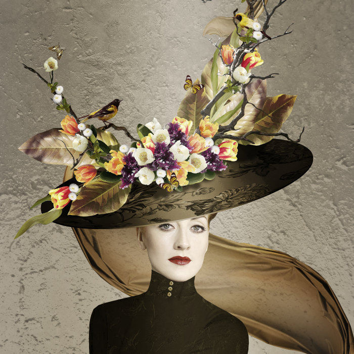 Spring Has Sprung And So Has These Fabulous Fantasy Hat Designs, Created And Chosen From 100's Of Flower Images Taken This Spring