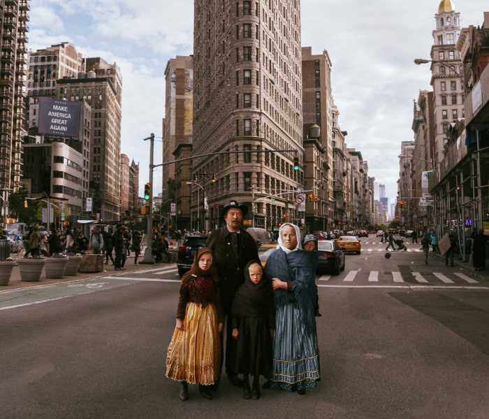 I Made Immigrants' Dream Come True By Photoshopping Them Into Today's New York