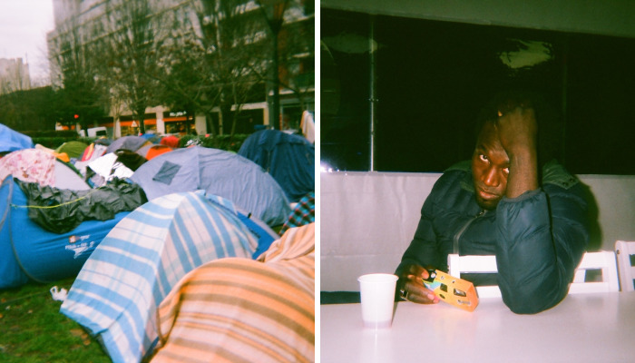 Refugees Document Their Reality Using Disposable  Cameras