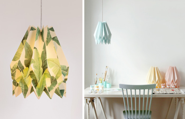 These Origami Lampshades Are Carefully Handcrafted With An Eco-Conscious Approach