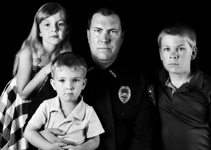 Blue Lives Matter: Images Of Officers And Their Family Members
