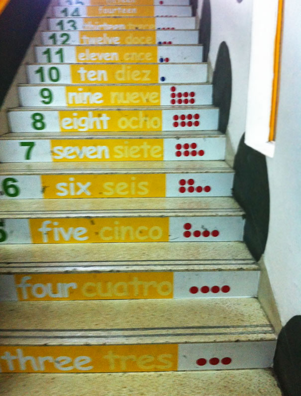 Lovely Counting Stairs