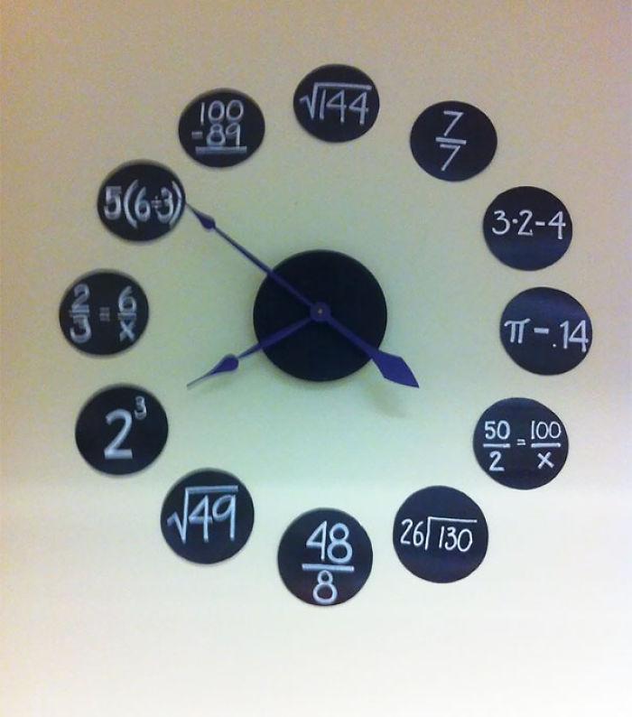 Reloj de clase