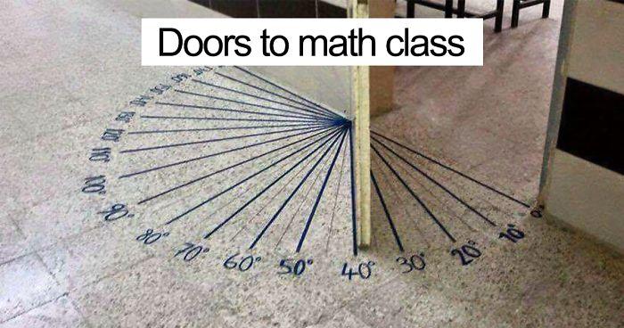 Innovative Math Classrooms ~ Genius school ideas that you wish had at