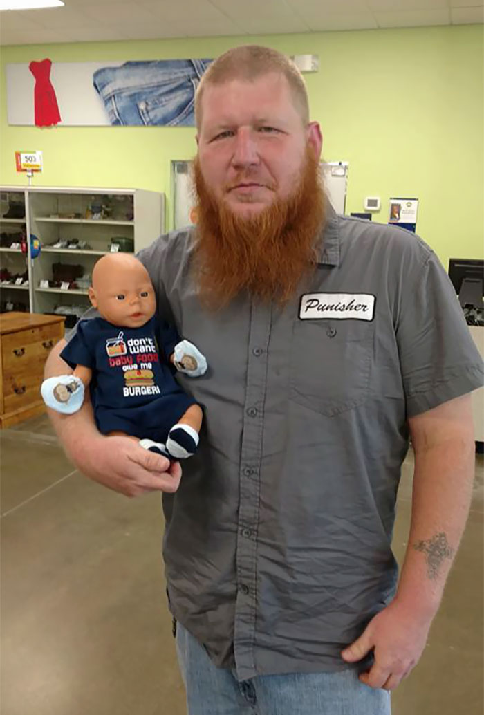 dad-buy-baby-doll-clothes-goodwill-store-13