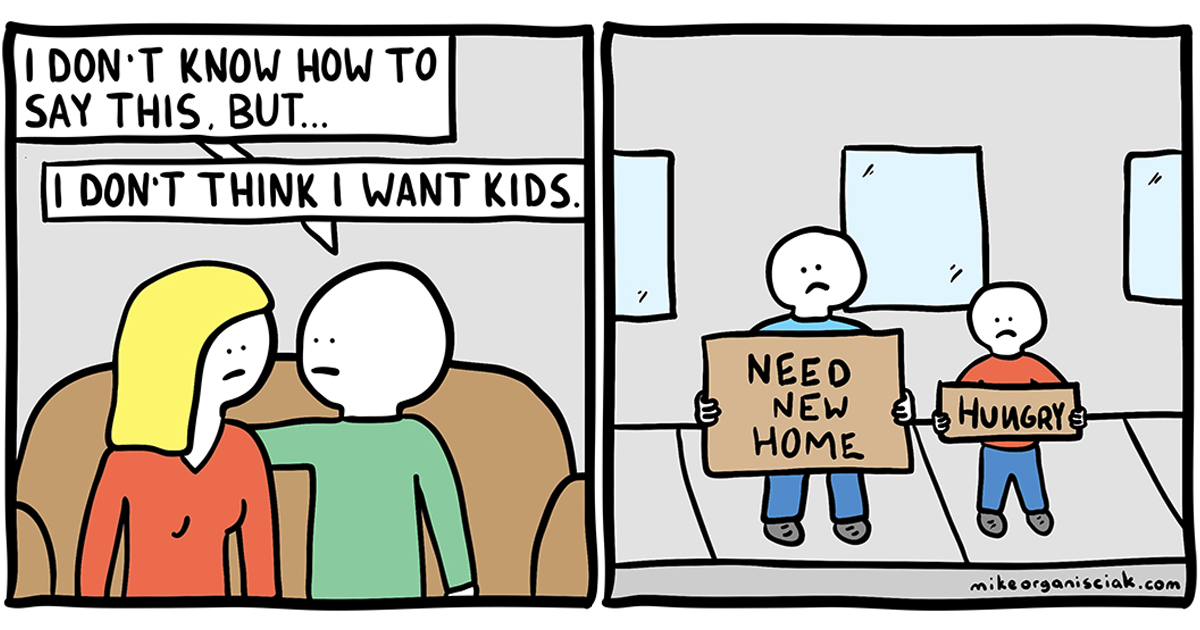 10+ Brutal Comics With Unexpected Endings That Only People With A Dark Sense Of Humor Will Understand