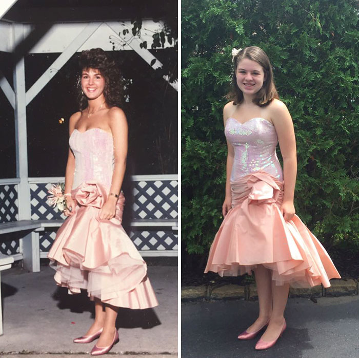 Senior Prom Dress Last Worn 26 Years Ago