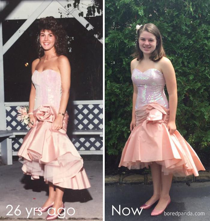 Vintage 1962 Pink Prom Dress