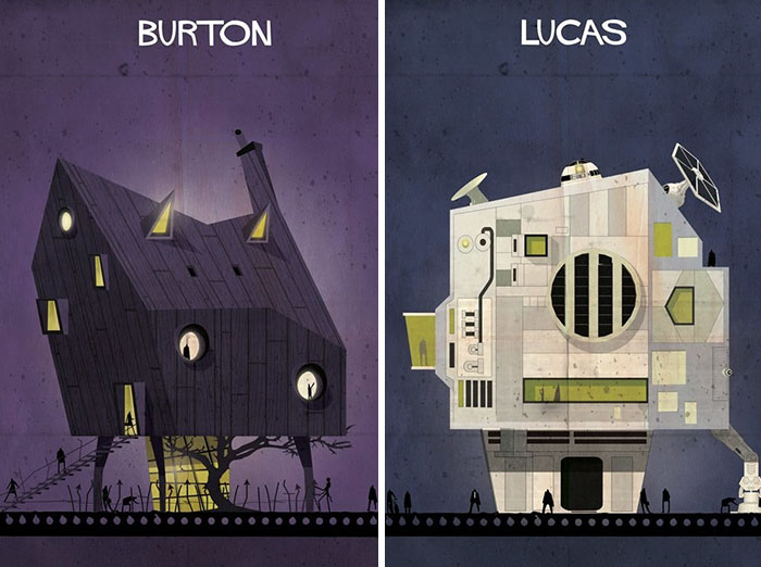 What Would Be The Houses Of Filmmakers If They Were Based On Their Own Films