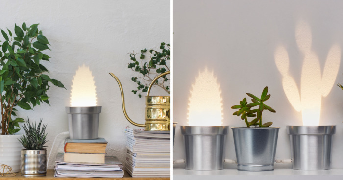 We Designed Wall Lamps That Turn Into Cactuses When Switched On