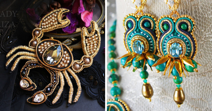 9695667bd 23 Stunning Handmade Soutache Pieces Of Jewelry By Lady-Liza | Bored ...
