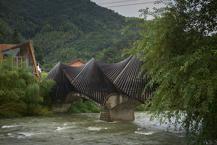 Fantasy-Like Bamboo Structures Reveal Material's Incredible Possibilities In First Ever Bamboo Architecture Biennale