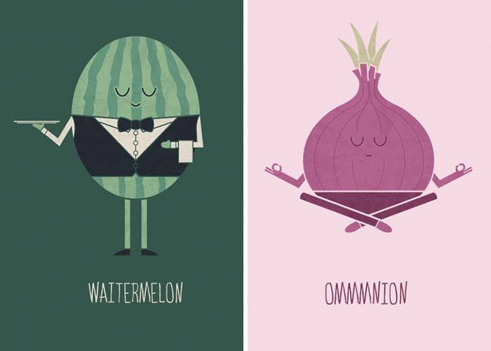 Freshly Picked Food Puns That I Create To Make Your Day