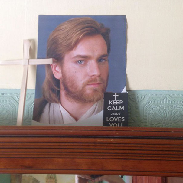 Mum, That's Not A Picture Of Jesus