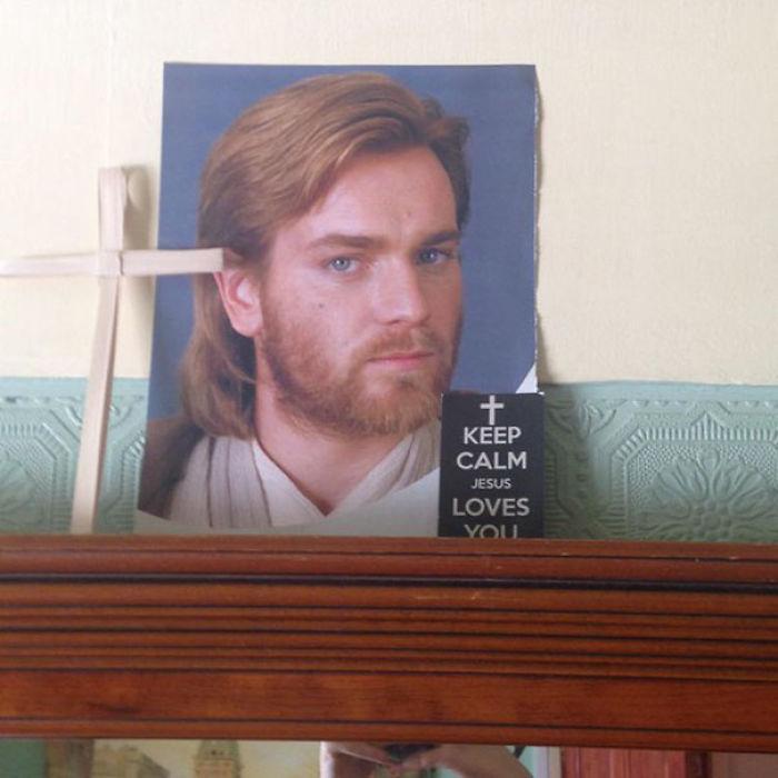Mamá, ese no es Jesucristo