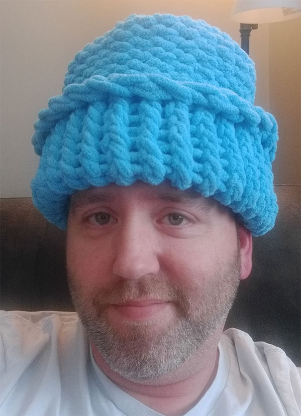I'm Almost 40. My Mom Knitted This For Me For Christmas