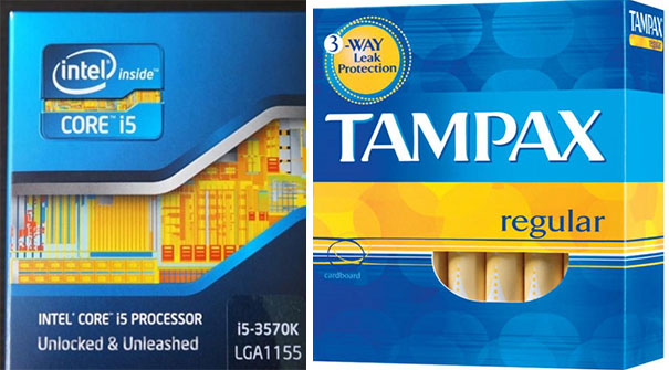 My Mom Walked Into My Room And Asked Why I Had A Box Of Tampons On My Desk. I've Never Noticed The Similarities...