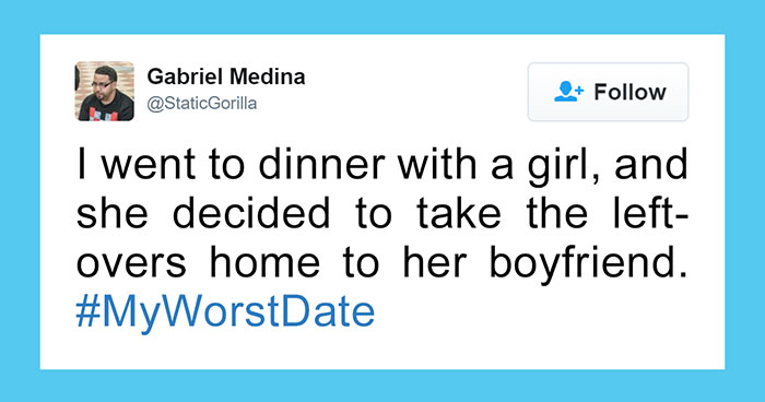 10+ Of The Worst Things That's Ever Happened To People On A Date