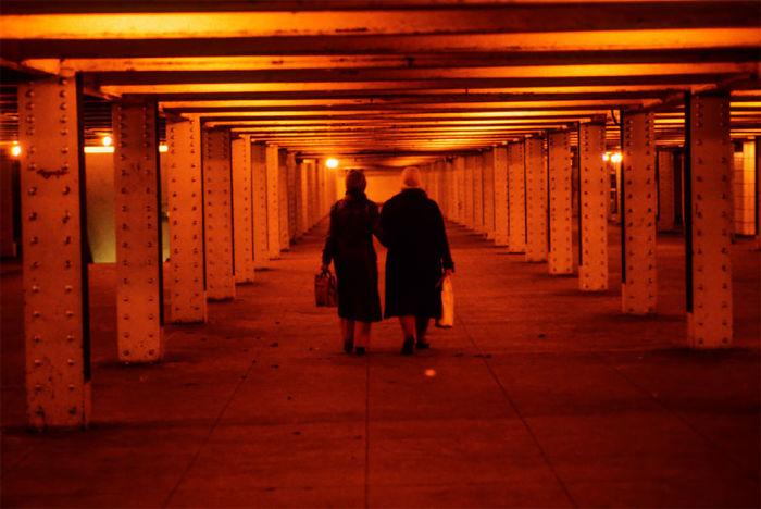 Nueva York en los años 70 y 80, fotos en el metro