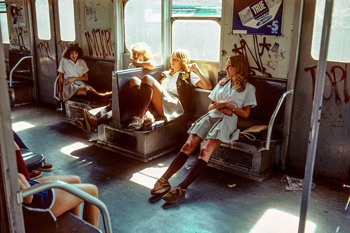 Curiosas fotos del metro de Nueva York en los años 70 y 80