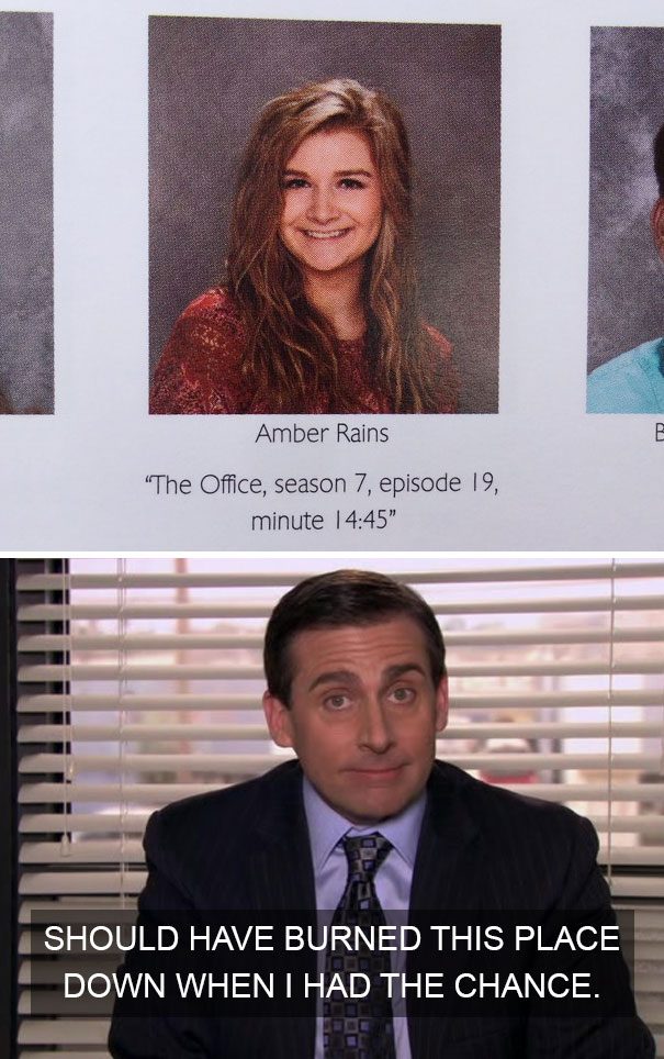 """The Office, Season 7, Episode 19, Minute 14:45"""