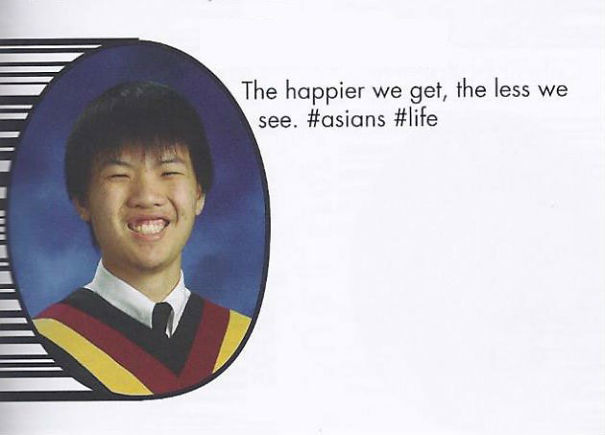 The Happier We Get, The Less We See #asian #life