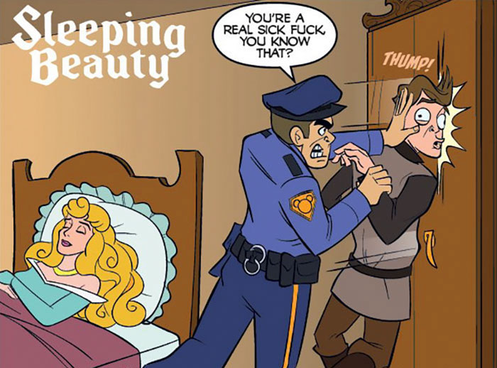 How Disney Movies Would Look With Cops In Them