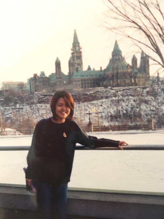 Mom At 31 In Ottawa, 2001