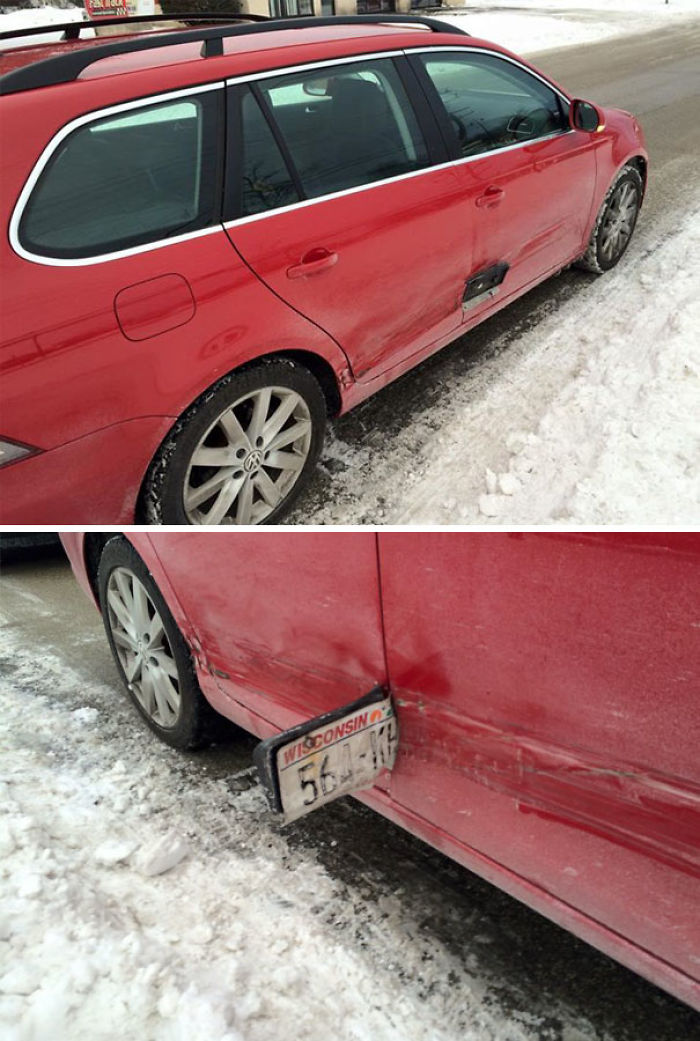 Karma: Friend's Car After A Hit And Run