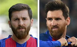 Este estudiante iraní fue arrestado por la policía por ser tan parecido a Lionel Messi