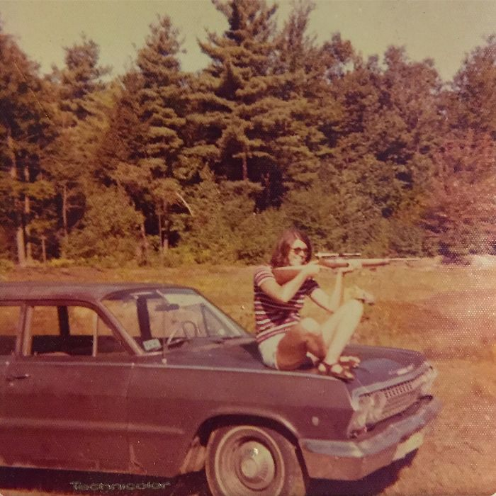 My Mom Around 1970 In The Wilds Of Maine