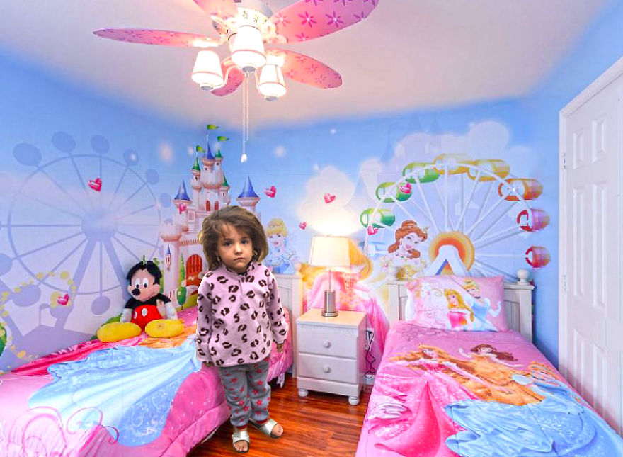 In The Disney Bedroom
