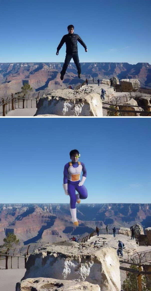 Help Make This Photo Of Me At The Grand Canyon Look More Realistic