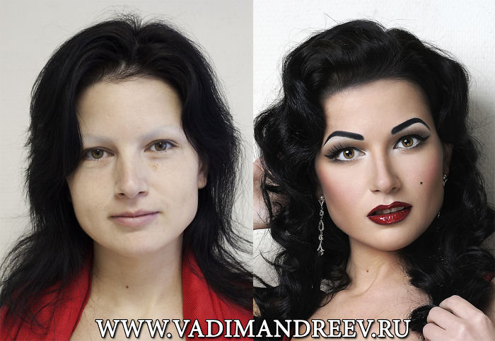 Russian Makeup Artist Proves That Anyone Can Look Like A Celebrity With Right Image Change