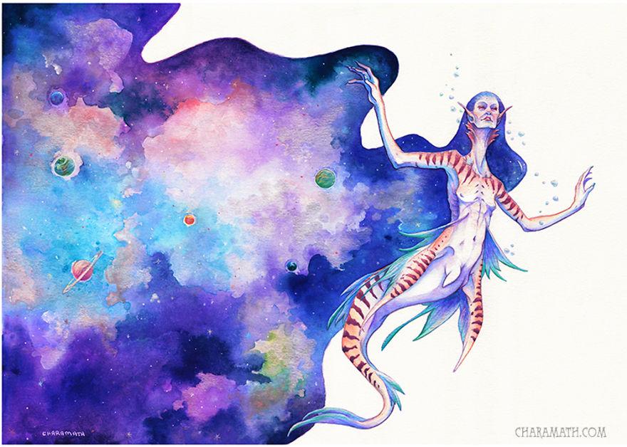 'cosmos Mermaid'