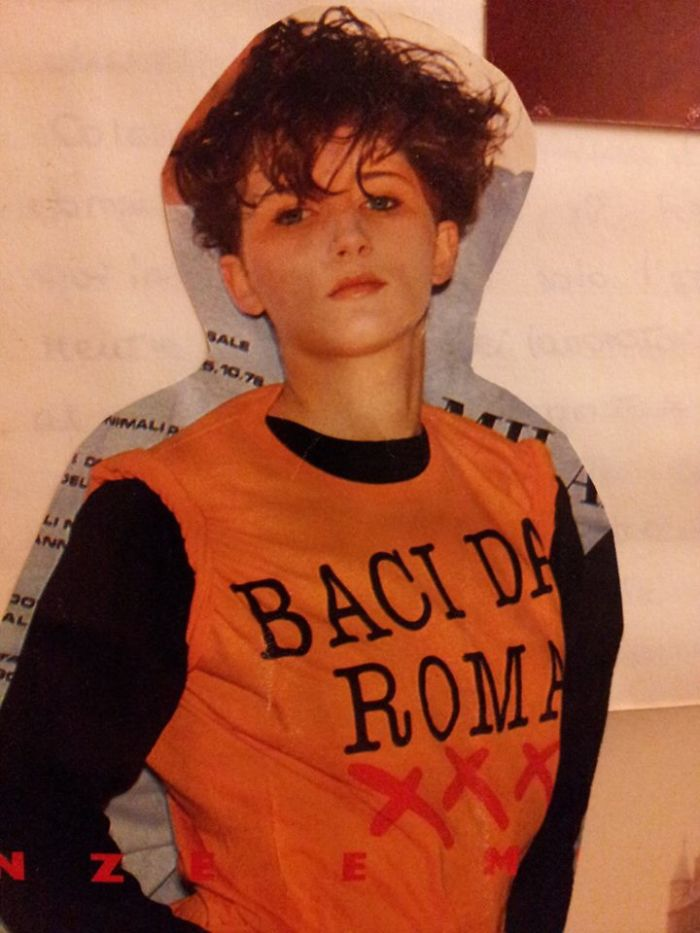 My Mum When She Modeled For An Italian Brand When She Was Around 17 Years Old