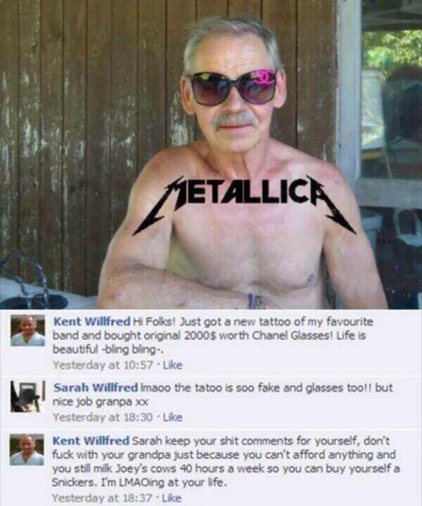 Damnnnnnn Grandpa