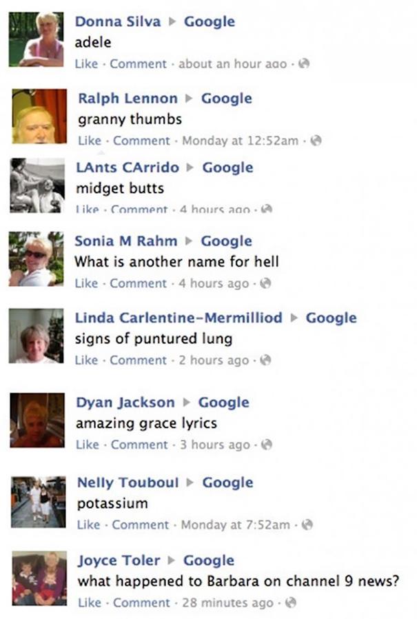Facebook, Not Google