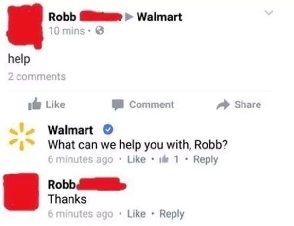 Robb Needs Help