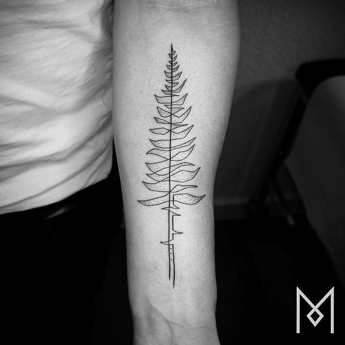 One Line Tattoo