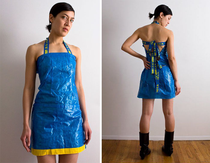 8c08d623d6 People Are Now Making Clothes Out Of 99-Cent IKEA Bags, And They Look More  In The $23 Range | Bored Panda
